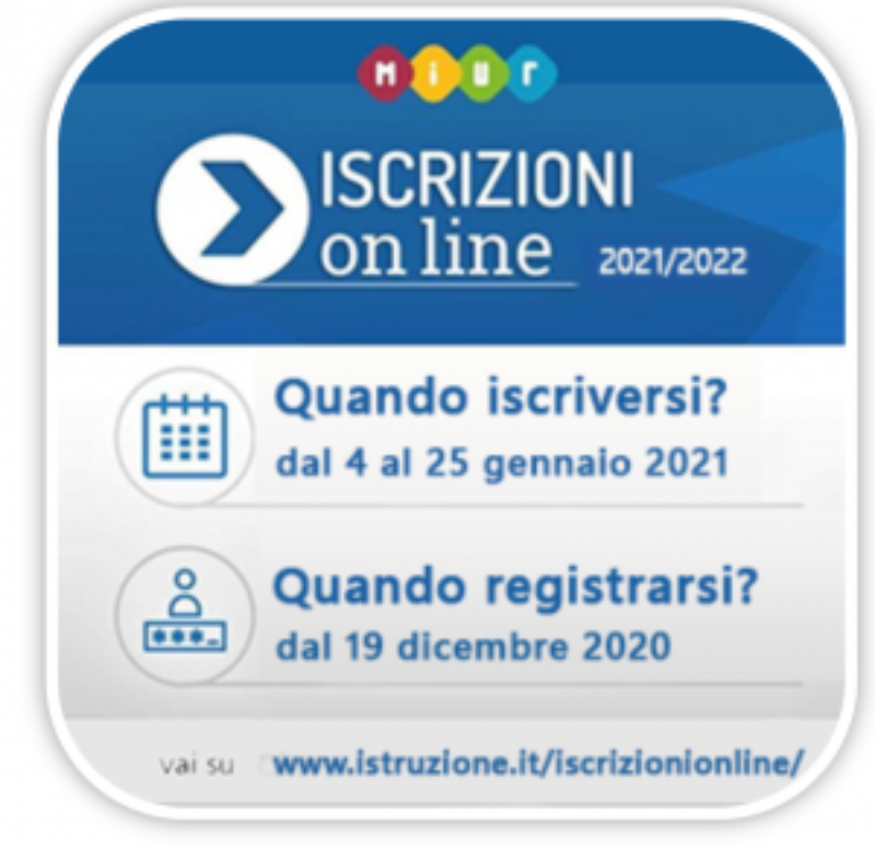 Iscrizioni  Online a.s. 2021-22